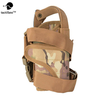 Tactifans Adjuatable Airsoft Gun Holster Torna Tactical Holster Coldre Molle Camouflage Pistol Drop Thigh Holster Leg
