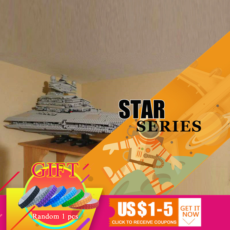 05027 3250Pcs Emperor Fighters Star Ship Model Wars Building Kit Block Toys Compatible with 10030 Boy Gift lepin