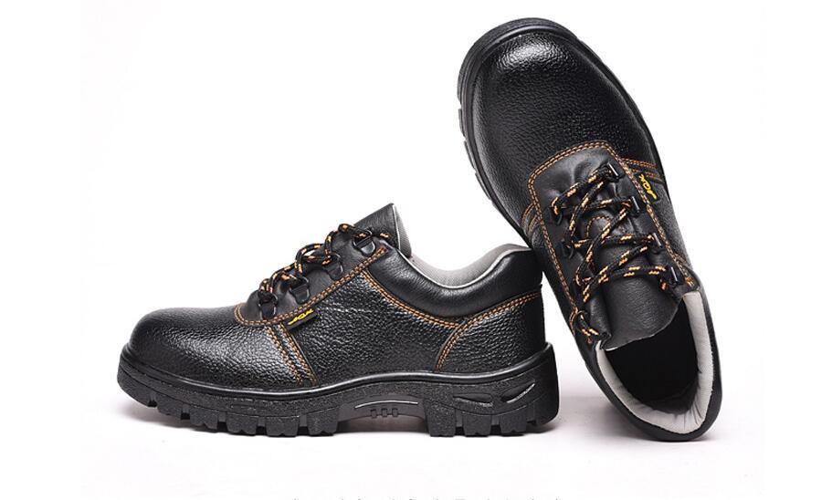 Chaussures de protection du travail, protection chaussures, chaussures de sécurité, brisant la prévention, la prévention de la crevaison et skid prévention