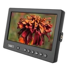 DOF F2 7″ LCD Digital camera Monitor  HDMI AV Enter 1024*600 Mini-HDMI to Normal-HDMI Cable for Canon Nikon Sony Panasonic DSLR