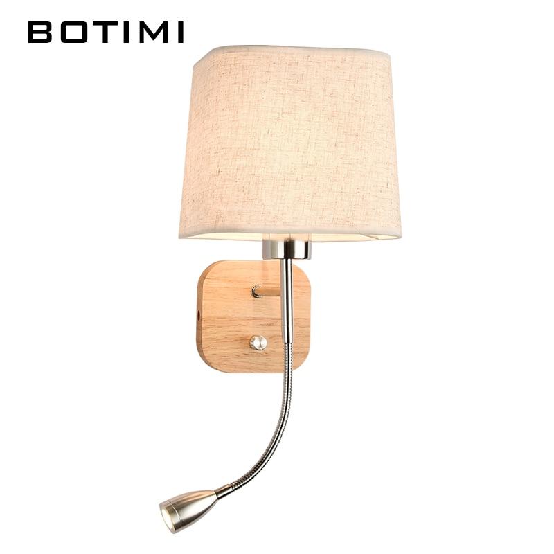 BOTIMI Nueva lámpara de pared LED para sala de estar junto a la cama - Iluminación interior - foto 4