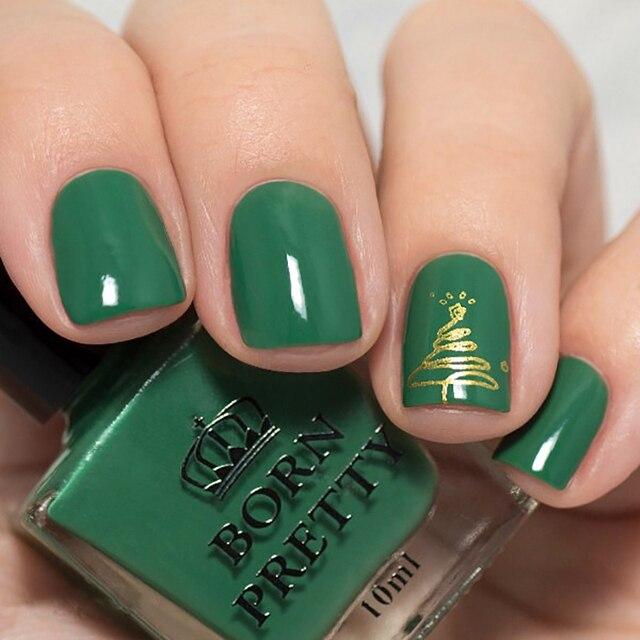 NACIDO PRETTY 1 Botella de Esmalte de Uñas de Color Verde Oscuro 10 ...