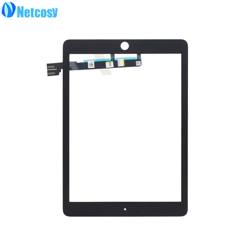 Netcosy Black/White Touchscreen For ipad pro 9.7 Touch screen digitizer glass panel repair For ipad pro 9.7 touch panel butt plug gold small