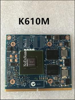 Original N15M-Q2-B-A1 Video Display Card For HP ZBOOK 15 17 K610M 1GB Graphic Card 100% TEST