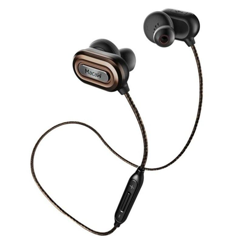 ФОТО Macaw T1000 Bluetooth Earphone In Ear Waterproof Headset Stereo Auriculares Running Sport Earphone Wireless Earpiece Earbuds