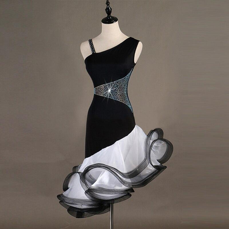 2019 Tango Samba Latin Dance Dress Women Latin Dance Competition Dresses Latin Dress For Kids Girl Women Custom Size Color