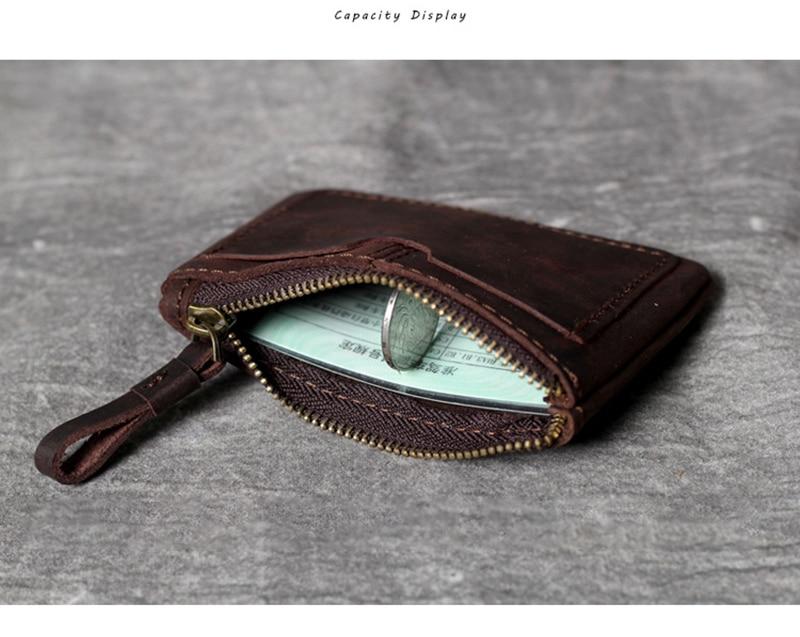 pacote carteira carteira de motorista carteira pequena de couro artesanal