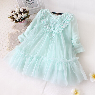 newborn baby girls dress(China)