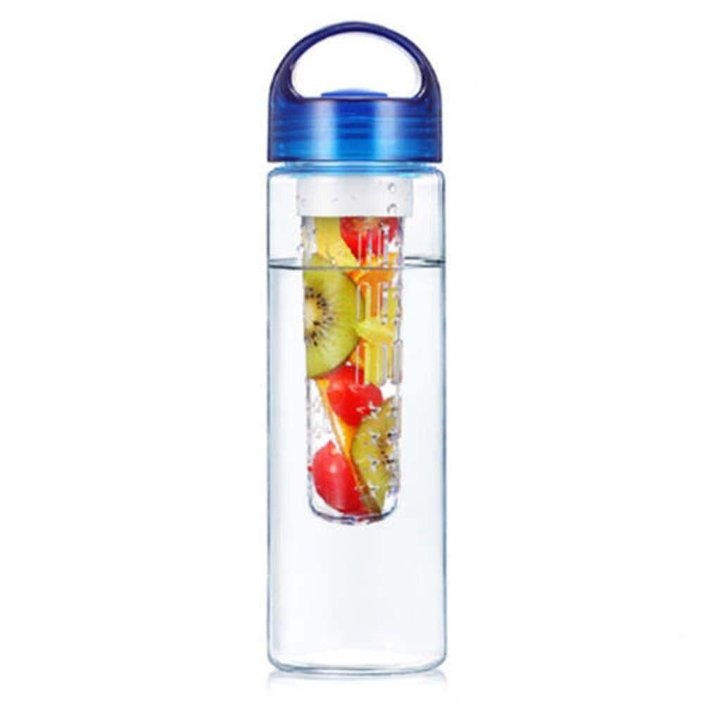 1 X бутылка для воды 700 мл bpa Пластик фрукты для заварки бутылка для воды с фильтром герметичные Спорт Пеший Туризм Кемпинг пить шейкер бутылк...