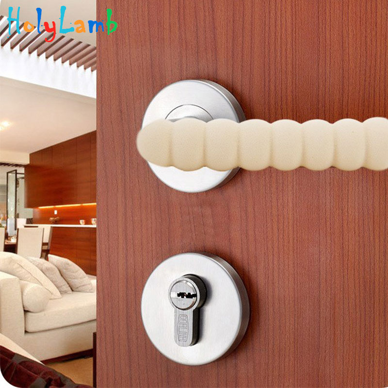 1Pcs Door Handles Spiral Door Handle Impact Protection Handle Pad Protection From Children Baby Child Safety Child Lock Security
