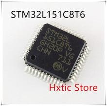 10PCS/LOT STM32L151C8T6 STM32L151 STM32L 151C8T6 LQFP48