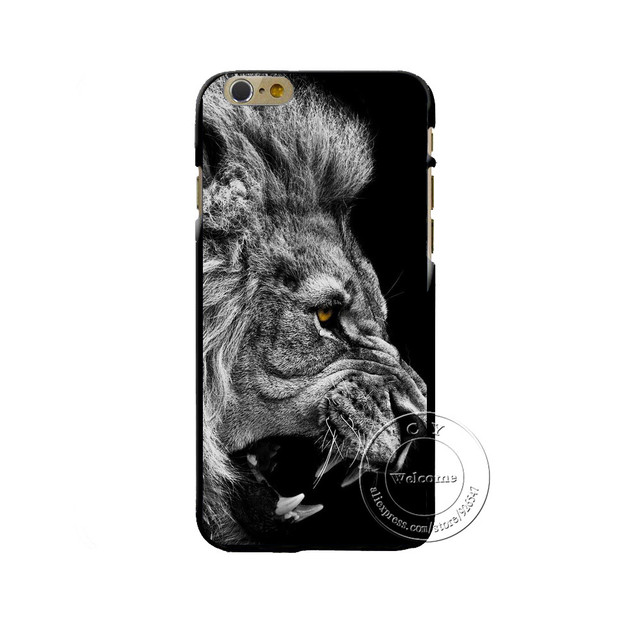 Lion Phone Case iPhone 4 4S 5 5S SE 5  C 6 6 S 7 Plus 6 S Plus