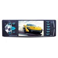 Car Radio Auto Audio Stereo 4.1 inch 1 Din FM Bluetooth 12v Support Rear View Camera USB FM MP4 MP5 USB SD TF autoradio