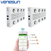 Venesun светодиодный светать Панель 1200 Вт полный спектр с удара светодиодный растет лампы Регулируемая Wi Fi Управление для комнатных растений в