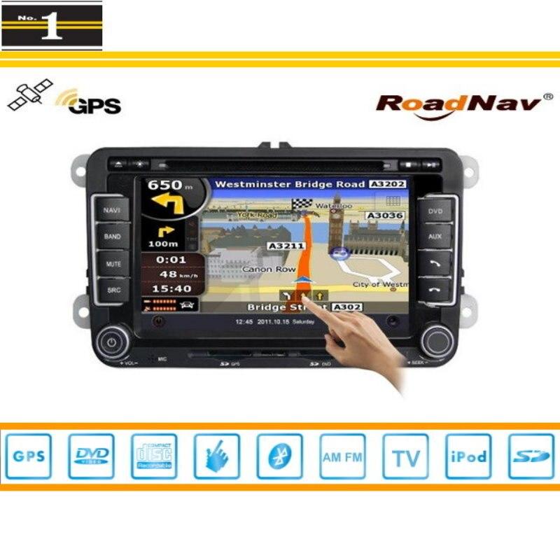 Para SEAT Leon MK2 2005 ~ 2011 Sistema de Navegación Del GPS Del Coche/Radio TV