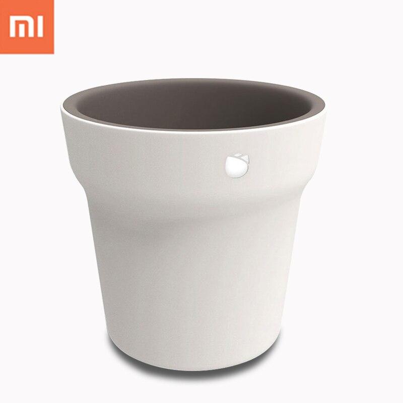 Оригинальный Xiaomi mijia Флора смарт-цветочный горшок Мониторы цифровой растения Трава воды почвы свет тестер Сенсор с Bluetooth Управление