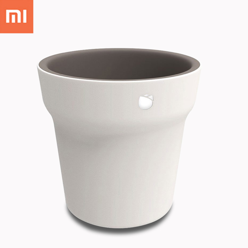 цена Original Xiaomi Mijia Flora Smart Flower Pot Monitor Digital Plants Grass Soil Water Light Tester Sensor with Bluetooth Control