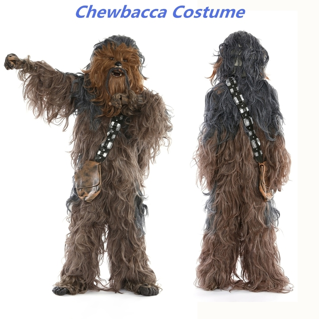 Rubieu0027s Star Wars Super Edition Adult Chewbacca Cosplay Party Costume  sc 1 st  AliExpress.com & Rubieu0027s Star Wars Super Edition Adult Chewbacca Cosplay Party Costume