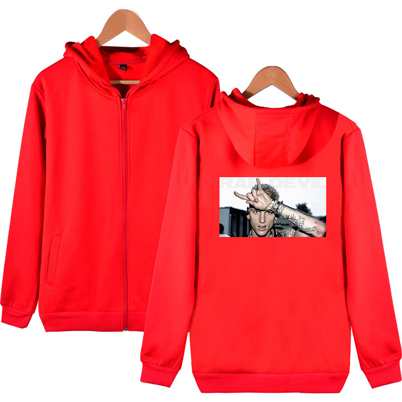 MGK Lace Up Men/'s Hoodie Longsleeve Size S to 3XL