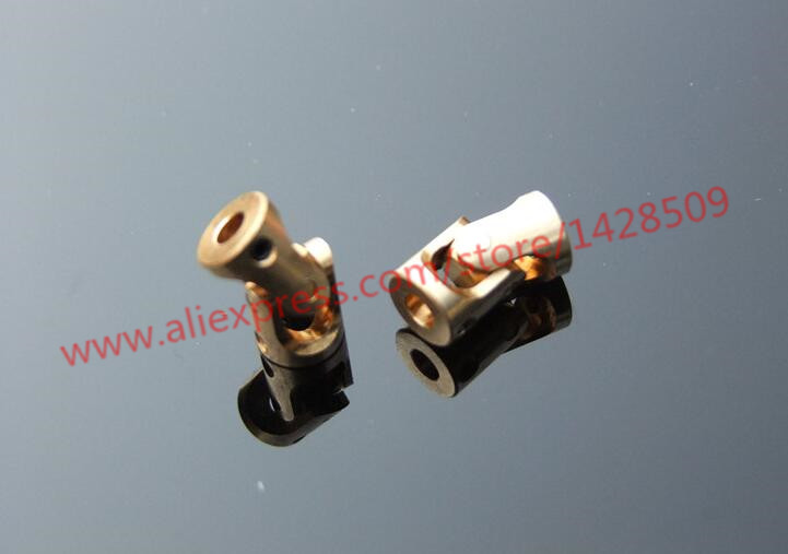 Brass Universal Joint 3-3mm Miniature Copper Coupling Specification Complete WL
