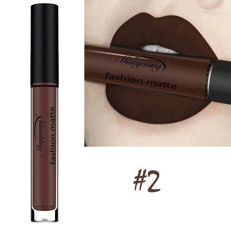18 Colors Matte Liquid Lip Gloss Matte Lipstick Long Lasting Waterproof Makeup Women Beauty Cosmetics 4