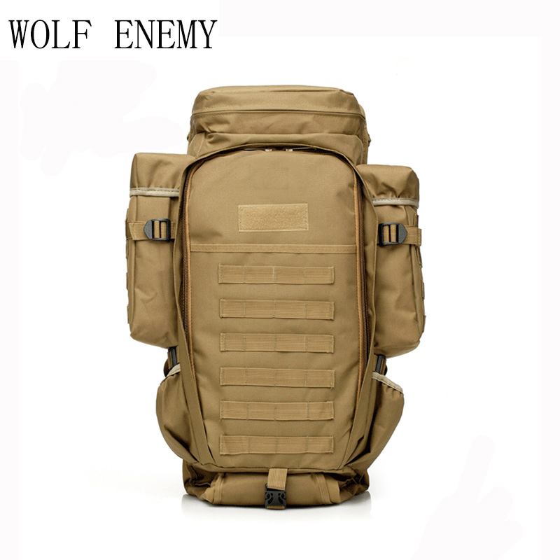 где купить USMC Army Men Women Outdoor Military Tactical Backpack Camping Hiking Rifle Bag Trekking Sport Travel Rucksacks Hunting Bags дешево