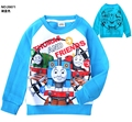 Kids Autumn Thomas Fleece T shirt Children Long Sleeve Cotton Tops/Clothes/Vetement/Roupas For Boys/Enfant/Baby/Menino/Infantil