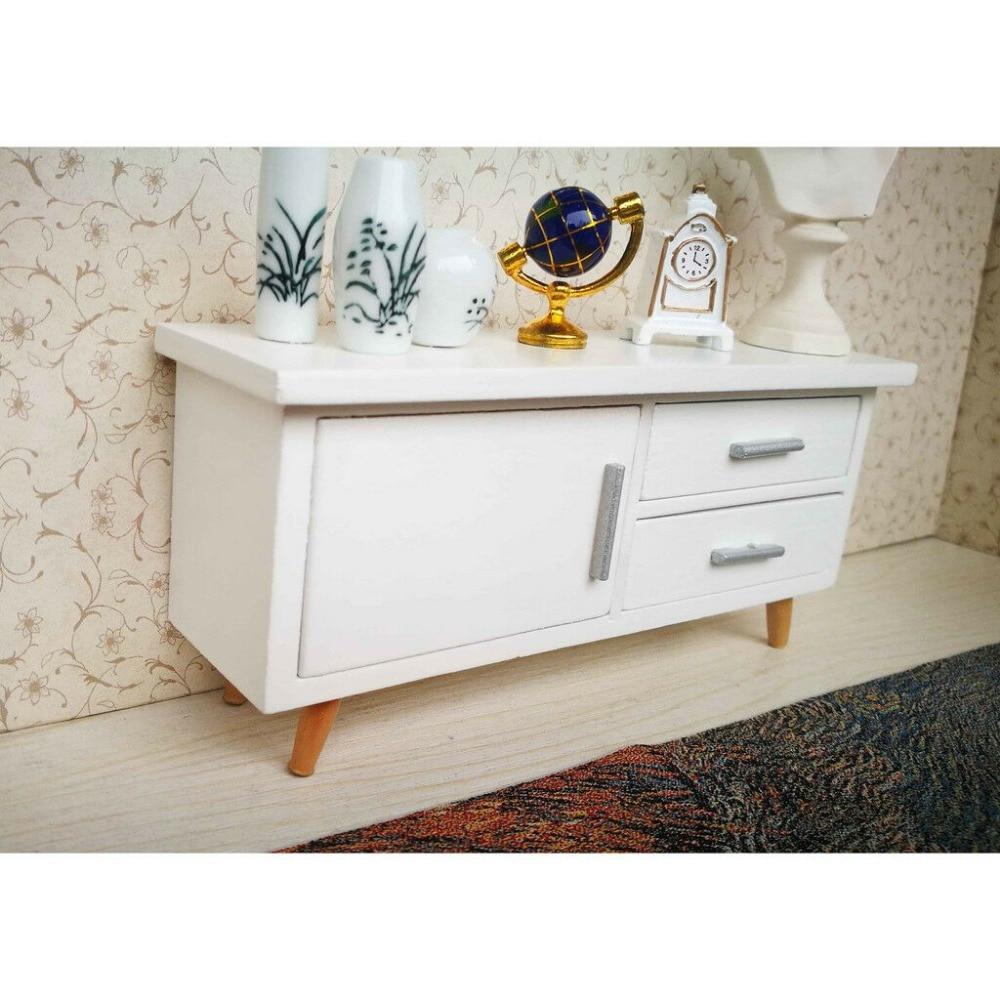 sala jantar mobiliário conjunto branco moderno conciso