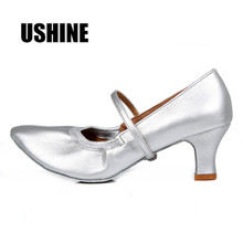 Promotion price Brown Latin danceshoes woman/Salsa/Ballroom dancing shoes/zapatos de baile latino mujer/free shipping цена