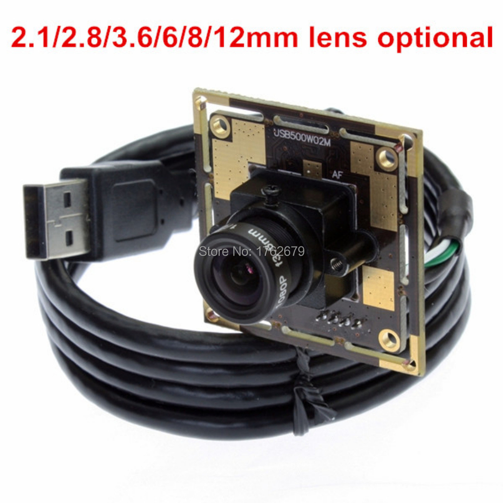цена на 3.6mm lens USB Endoscope Camera Module MJPEG YUY2 UVC Linux Android Mac Windows board cmos sensor ov5640 usb module 5mp webcam