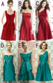 NEW Custom Color & Size !Sweet Mix style mini short bridesmaid dresses wedding dresses, Homecoming Dresses Plus Size