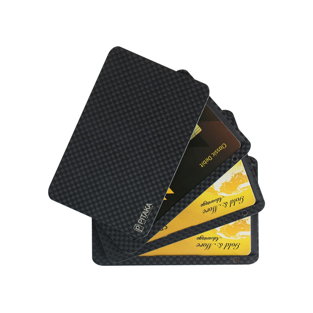 release date: b8e5d d1f70 R$ 439.05 |PITAKA Carbon Fiber Wallet Magnetic Minimalist RFID Blocking  Slim Credit Card Coins Holder Best Men's Gifts em Fantasias masculinas de  ...