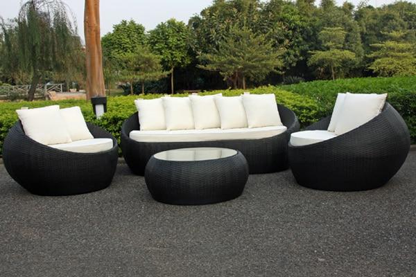 Outdoor Lounge Furniture online get cheap rattan outdoor furniture round -aliexpress