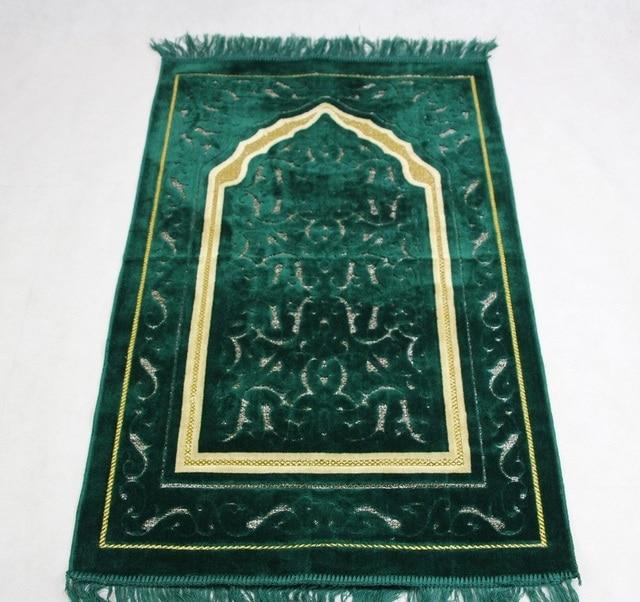 """2017 חדש שמיכת תפילת שטיח תפילה מוסלמי אסלאמי MashaAllah Travelling ייחודי/שטיח/שטיחים סאלאט Musallah 70*110 ס""""מ"""