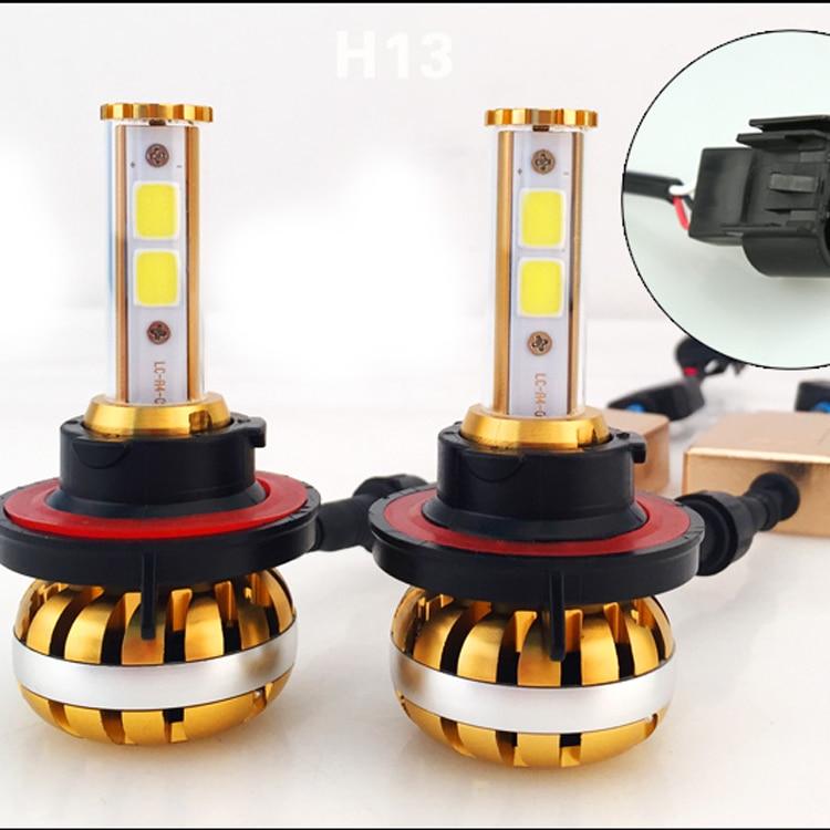1Set 12000LM 60W H13 CANBUS auto LED světlomet COB čip vysoký nízký paprsek HB1 9004 HB5 9007 H4 HB3 9003 Žárovky do mlhy