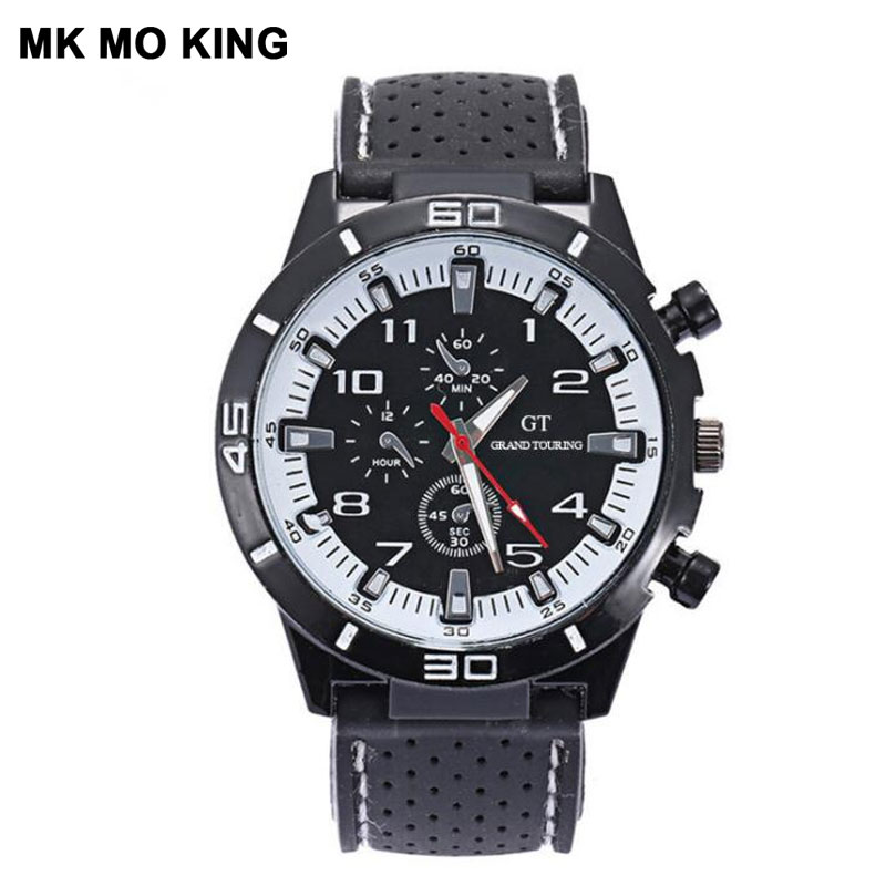 Sports Silicone Large Dial Fashion Business Quartz Men's Watch Casual Women's Clock Dw Mk Bracelet Couple Watches For Lovers