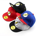 2017 Korean cartoon Embroidery lightning Children Hip Hop Baseball Cap Summer Sun Hat Outdoor Boys Girls snapback Caps 2-8 years