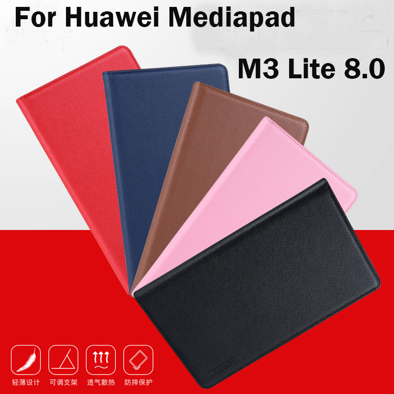 High Quality PU+TPU Soft Case stand Cover For Huawei Mediapad M3 Lite 8.0 CPN-W09 CPN-AL00 8 inch Tablet Protective Sleeve+Gifts high quality soft silicone rubber case stand function skin shell cover for huawei mediapad m3 lite 8 0 cpn w09 cpn al00 tablet
