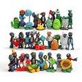 40 unids/lote PVZ Plants vs Zombies 2 PVC Figuras de Acción Juguetes de plantas y Zombies Figura de Juguete de Colección Modelo Juguetes Muñecas Casa decoración