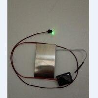 O passo do passo do gerador piezoelétrico é gerar eletricidade.