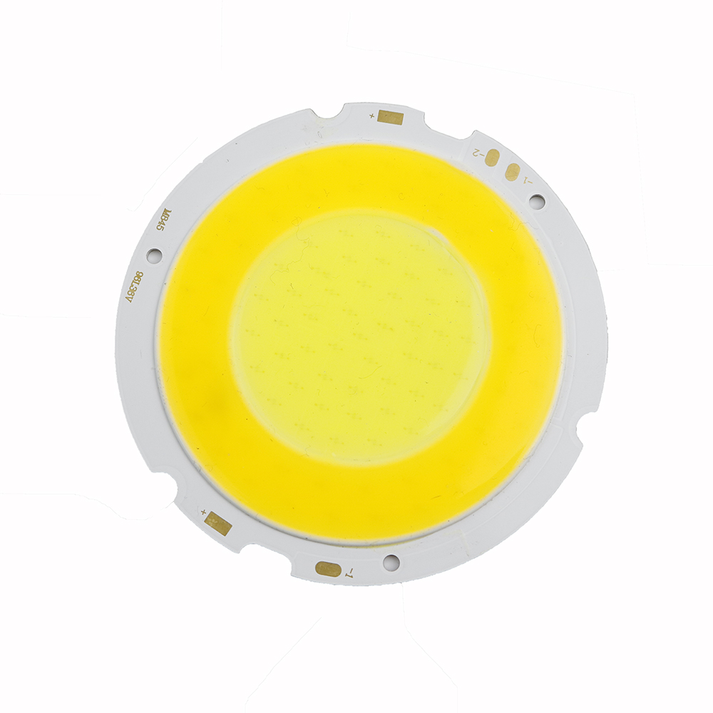 100pcs 40W COB Ultra Bright Round LED Pure warm White Light Lamp source Chips diy DC36-39V for car bulb or Home lighting 1000ma new h4 120w cree chips car led headlight kit 6000k white car bulb lamp light cob led light chip