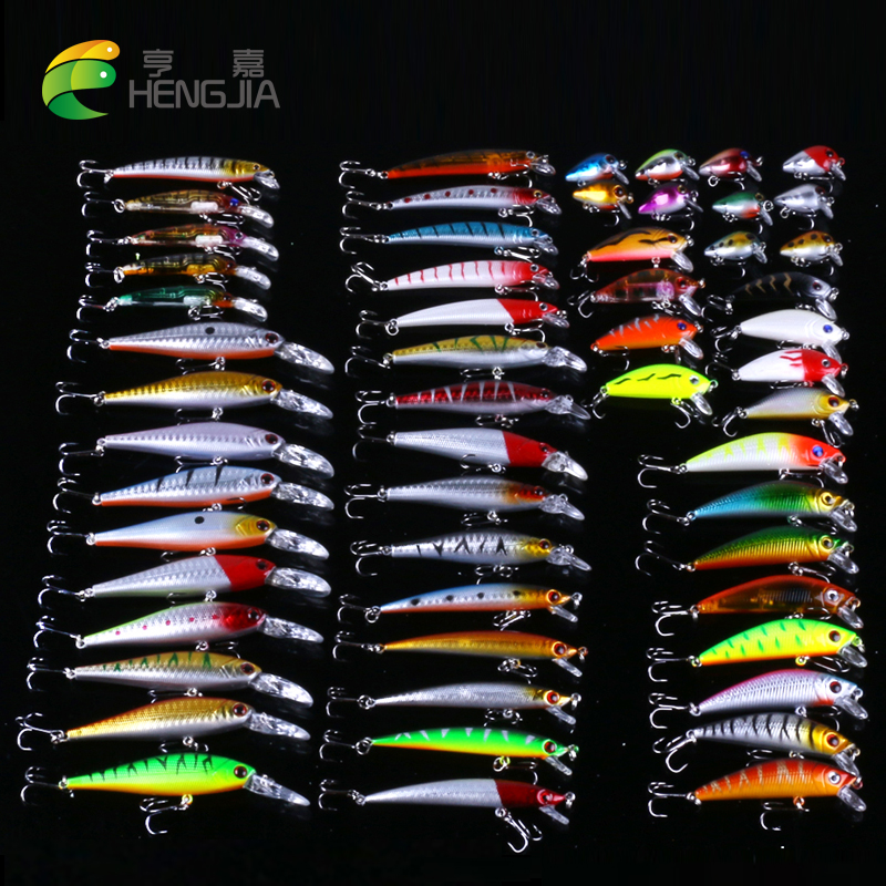 56pcs Mixed 8 Model Fishing Lure small Minnow isca Artificial Quality Professional Crankbait Wobblers carp Fishing Tackle pesca amlucas minnow fishing lure 110mm 9 5g crankbait wobblers artificial hard baits pesca carp fishing tackle peche we266