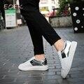 EOFK Женщины Обувь Для Ходьбы Повседневная Обувь Твердые Дышащий шнуровке Цвет Заклинание Квартиры Обувь Против Скольжения Обувь Женщины, Резиновые обувь