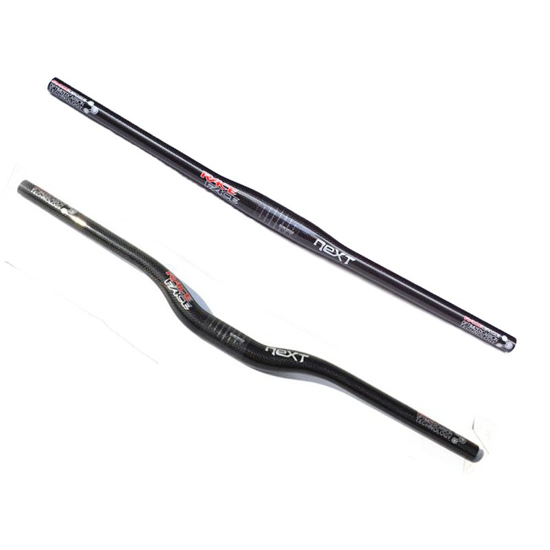 Race Face NEXT 3k Matte Carbon Fiber Handlebar 31.8mm Riser//Flat  Bar For MTB