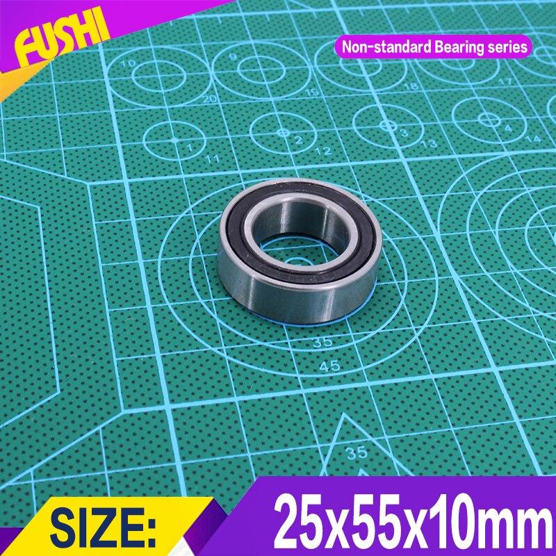 255510 Non-standard Ball Bearings  Iner Diameter 25 mm  Outer Diameter 55 mm  Thickness 10 mm Bearing 25*55*10 mm headl iner джинсовые брюки