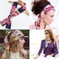15 color de la Mujer bufandas Redecilla Larga Animal Print bufanda Twilly vendaje moda bolso de Las Señoras bolso correas para la muchacha headbang