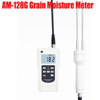 AM-128G גרגרים מד לחות חיטה/תירס/סויה/קפה גרגרים הלחות בודק טווח 7-30%