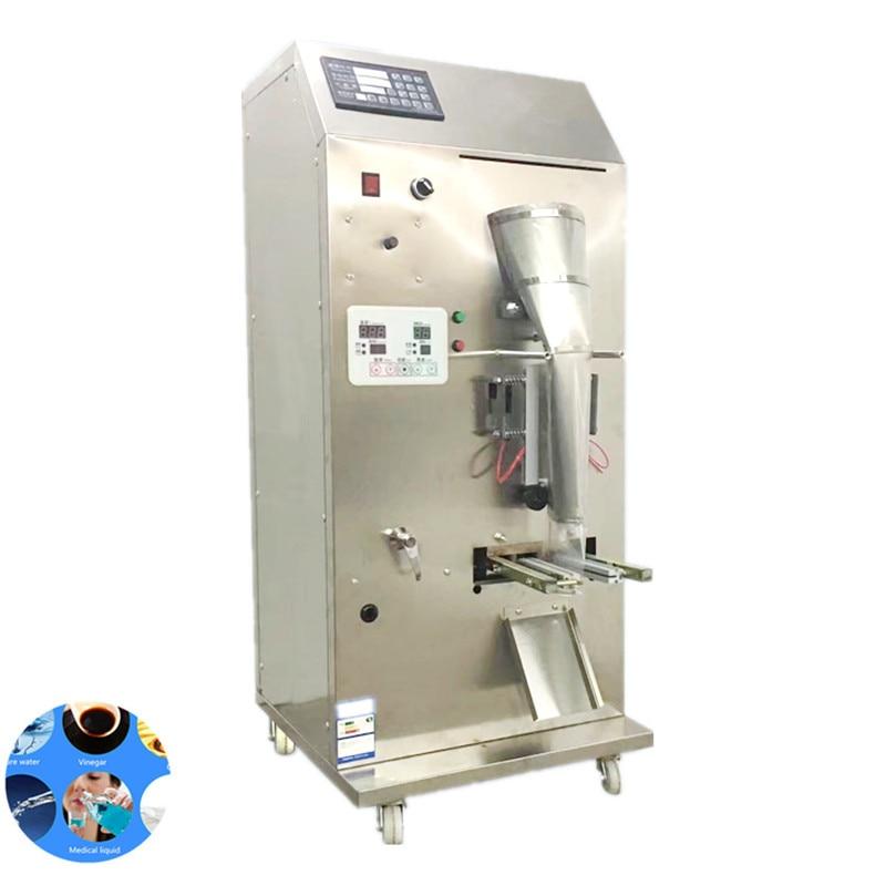 Automatic stainless steel liquid sachet filling machine, liquid pouch packing machine