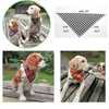 New Winter Dog Bandanas Cotton Plaid Washable Pet Bandanas Scarf Bow ties Collar Cat Samll middle large dog Grooming Products 1