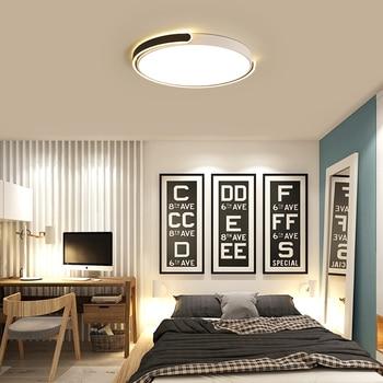 Moderne LED Plafondlamp Afstandsbediening Creatieve Ronde Dimbare Ontwerp Decoratie Plafondlamp Voor Woonkamer Verlichting Armatuur